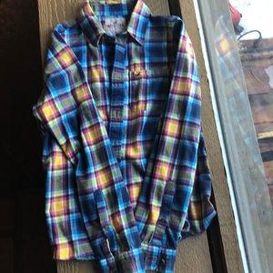 Hollister men's xl flannel shirt